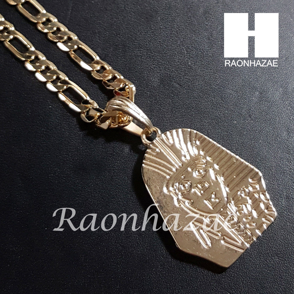 New 14k gold pt king tut pendant 15mm iced out miami cuban 30 new 14k gold pt king tut pendant 15mm iced out miami cuban 30 necklace set 202g aloadofball Gallery
