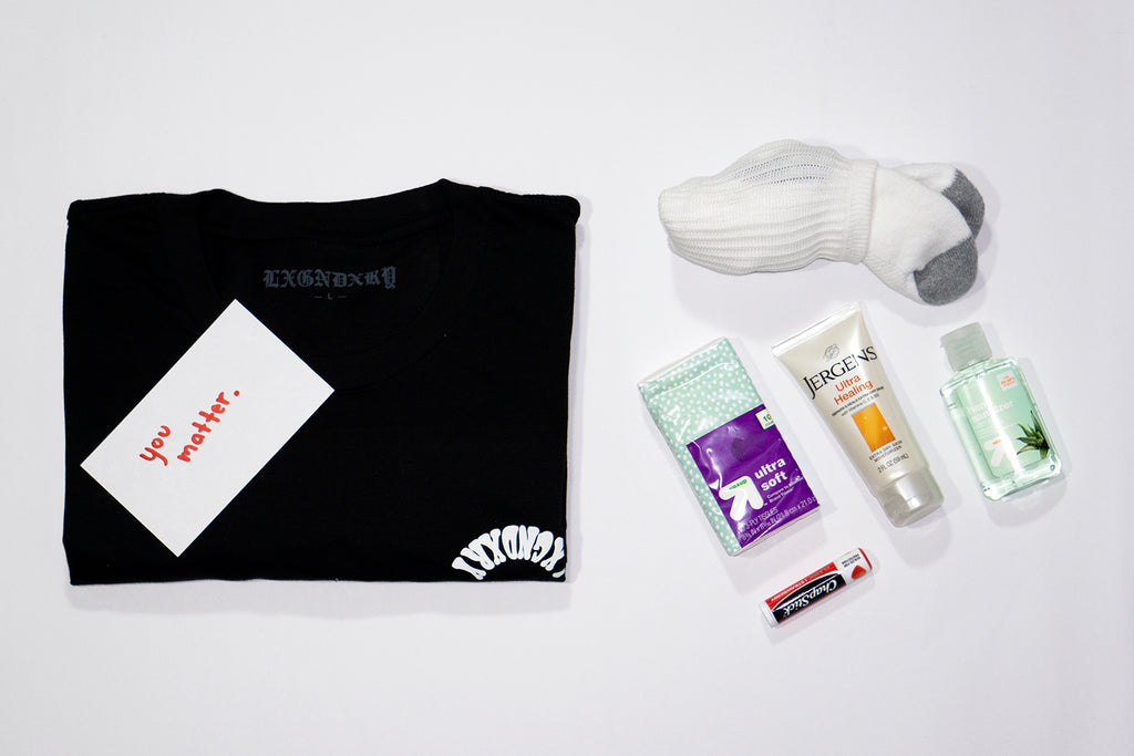 1 CARE KIT + 1 SHIRT PACKAGE SPONSORSHIP DONATION