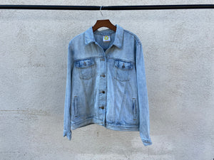 No One's Free - Women's Upcycled GAP Denim Jacket