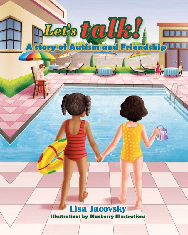 Book - ENGLISH - Let's Talk! A story of Autism and Friendship