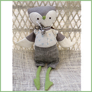 Soft Woodland Toy - Owl