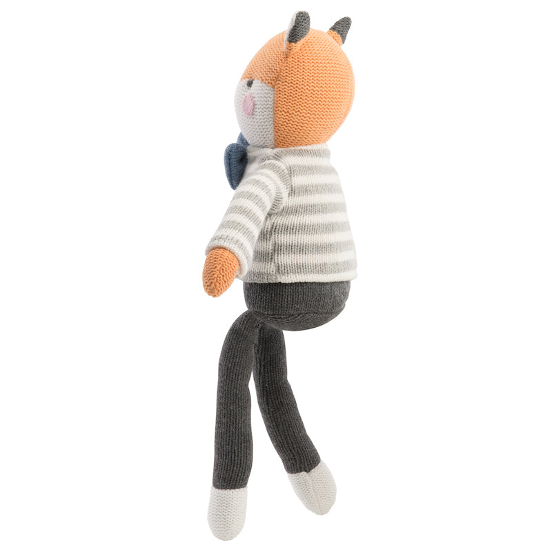 Dapper Fox Knit Doll | Avenue Petit Lou