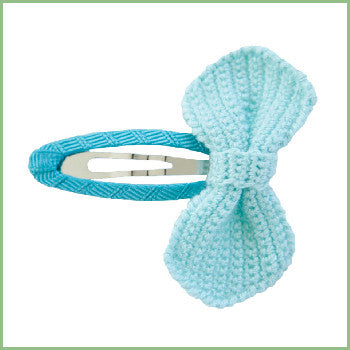 Crochet Bow Hair Clips | Avenue Petit Lou
