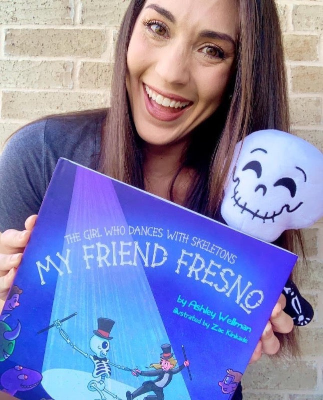 Book - ENGLISH - The Girl Who Dances With Skeletons: My Friend Fresno  | Avenue Petit Lou