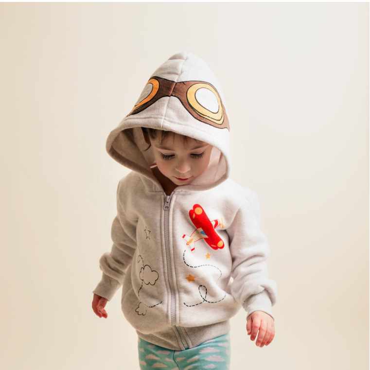 Cloud Captain 3D Hoodie | Avenue Petit Lou