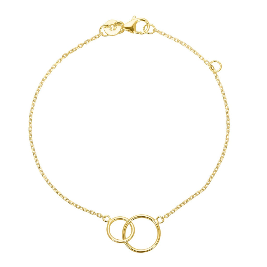 Lola Mother Daughter 18K Gold Plated Bracelet | Avenue Petit Lou