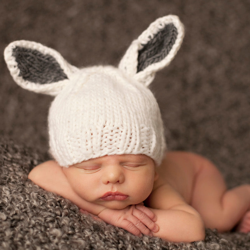 Bamboo Bunny Baby Knit Hat | Avenue Petit Lou