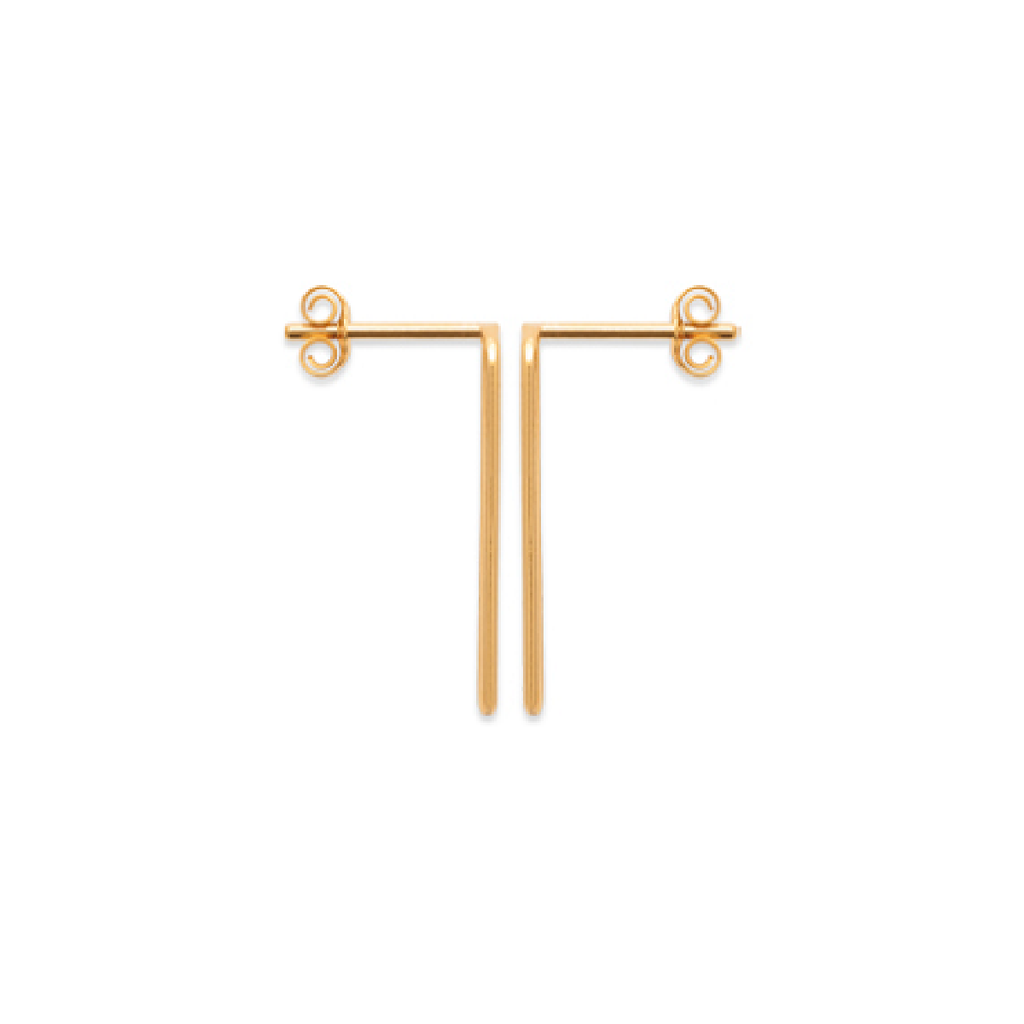 Piper 18K Gold Plated Earrings | Avenue Petit Lou