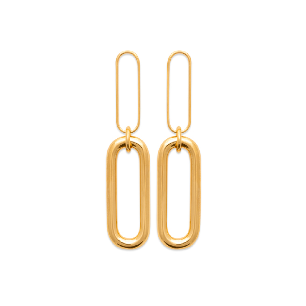 Paige 18K Gold Plated Earrings | Avenue Petit Lou