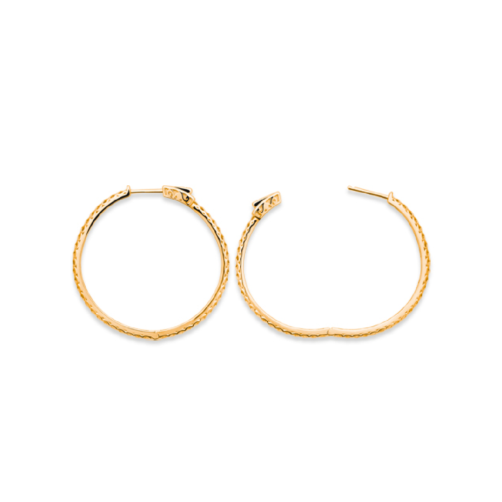 Nella 18K Gold Plated Earrings | Avenue Petit Lou