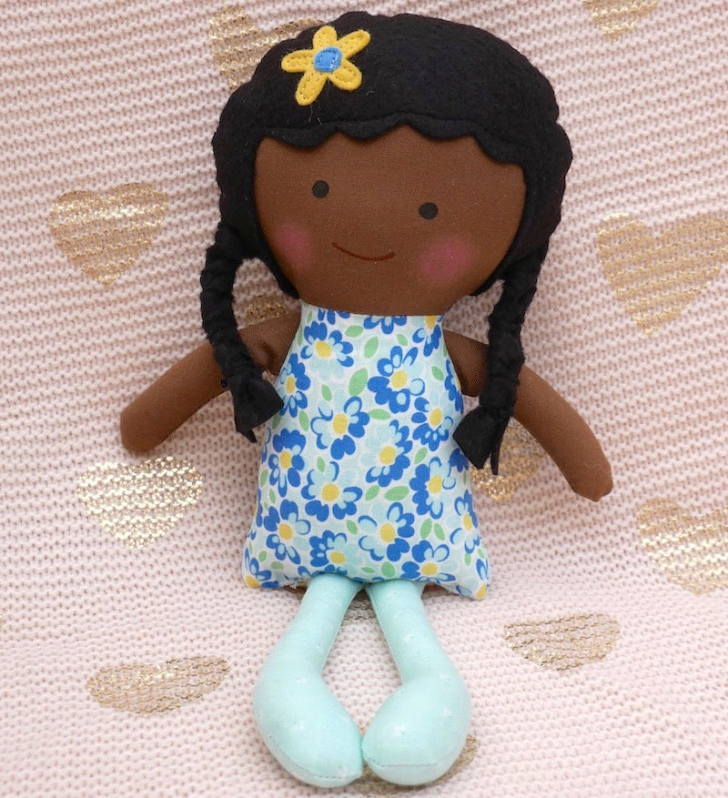 African American Charlotte Doll  - One of a Kind | Avenue Petit Lou