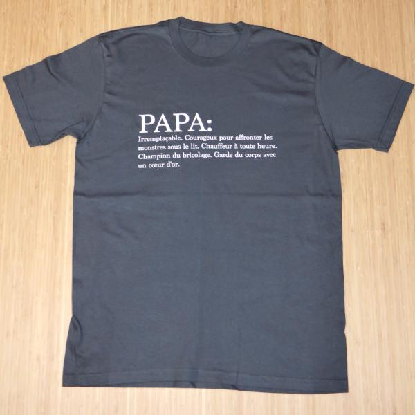 Organic Cotton T-shirt for Dads | Avenue Petit Lou