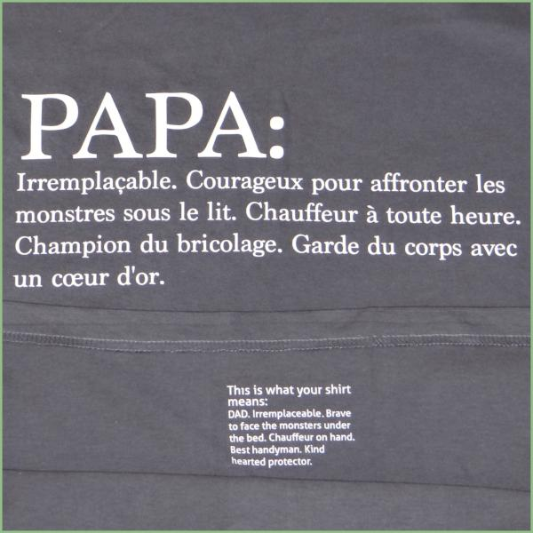 NEW! DAD T-shirt - Translation on the inside!