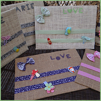 Personalized Hair Clip Holder Board