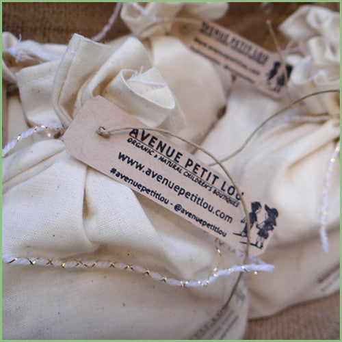 Mini Oatmeal bags for Bath time - Organic