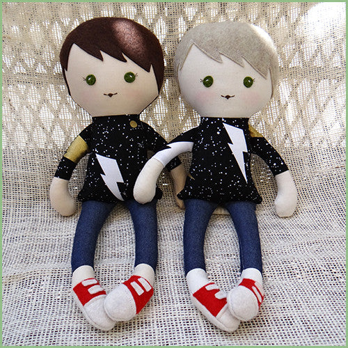 Boy Soft Dolls - Handmade - EXCLUSIVE!