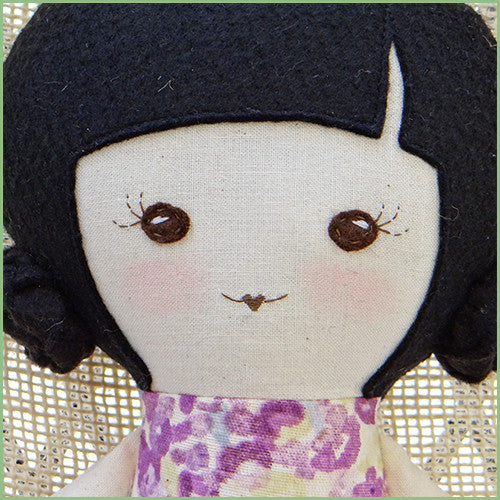 Asian Soft Ballerina Doll - Handmade - EXCLUSIVE!