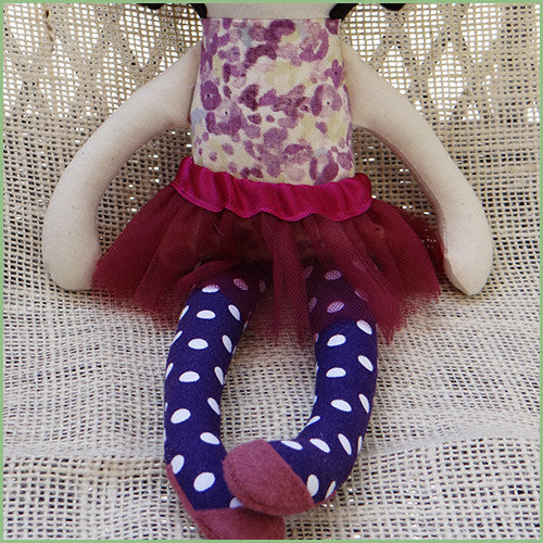Soft Ballerina Baby Doll - One of a Kind | Avenue Petit Lou