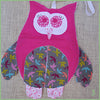 Pink PJ Owl Pouch/Bag