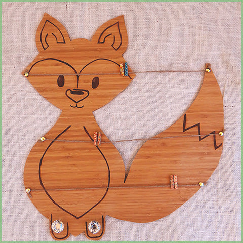 Bamboo Woodland Decor - Fox