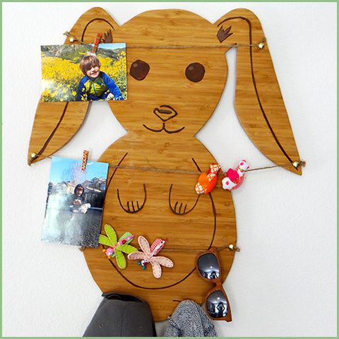 Bamboo Woodland Decor - Bunny