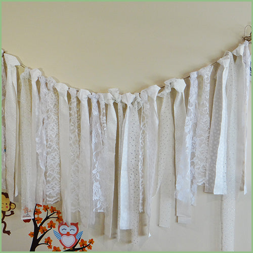 Decorative Garlands - Whites