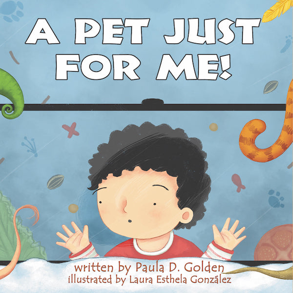 Book - ENGLISH - A Pet Just For Me! - Avenue Petit Lou