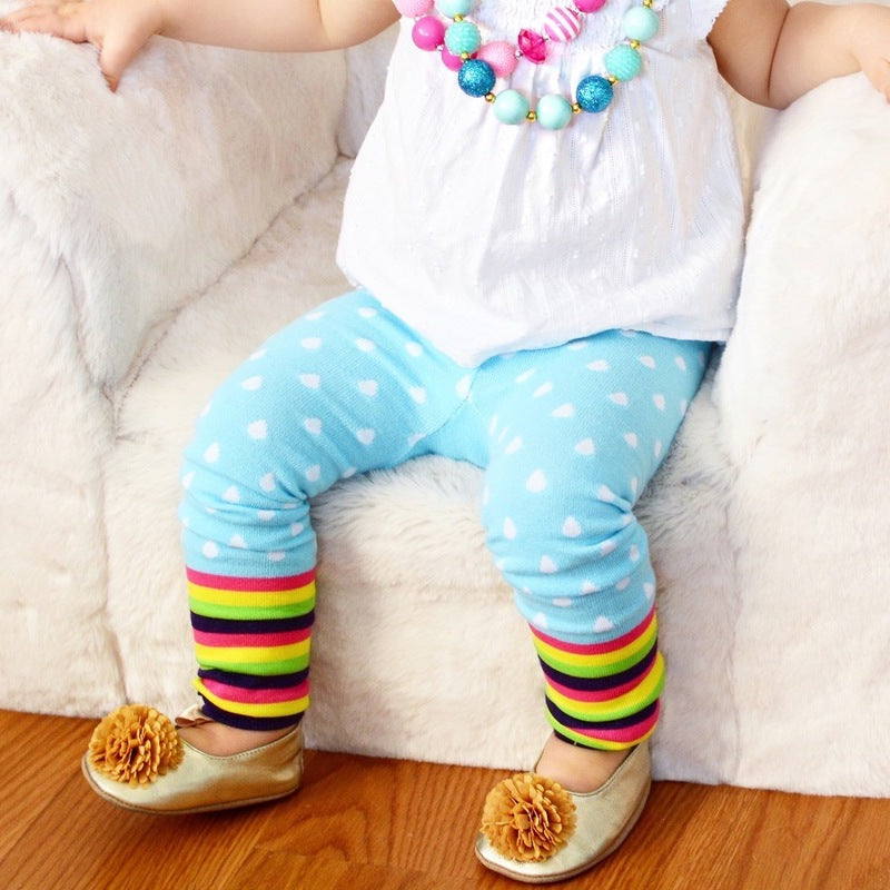 Rainbow Cloud Cotton Legging - Avenue Petit Lou