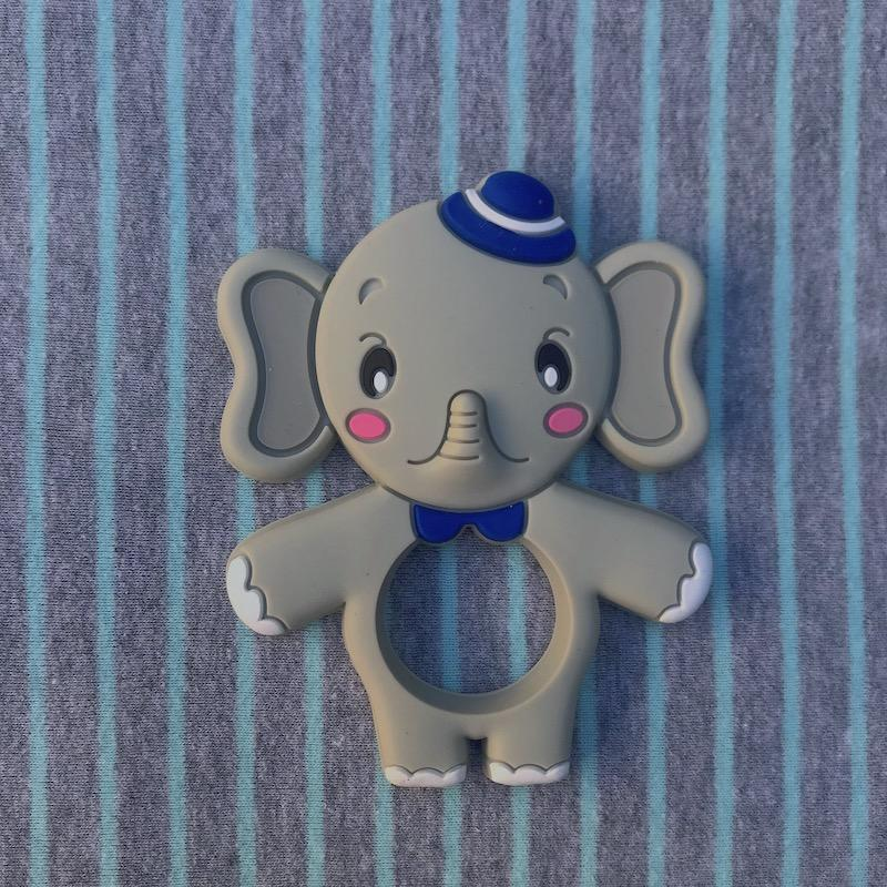 Silicone Elephant Teether - BPA Free - Avenue Petit Lou