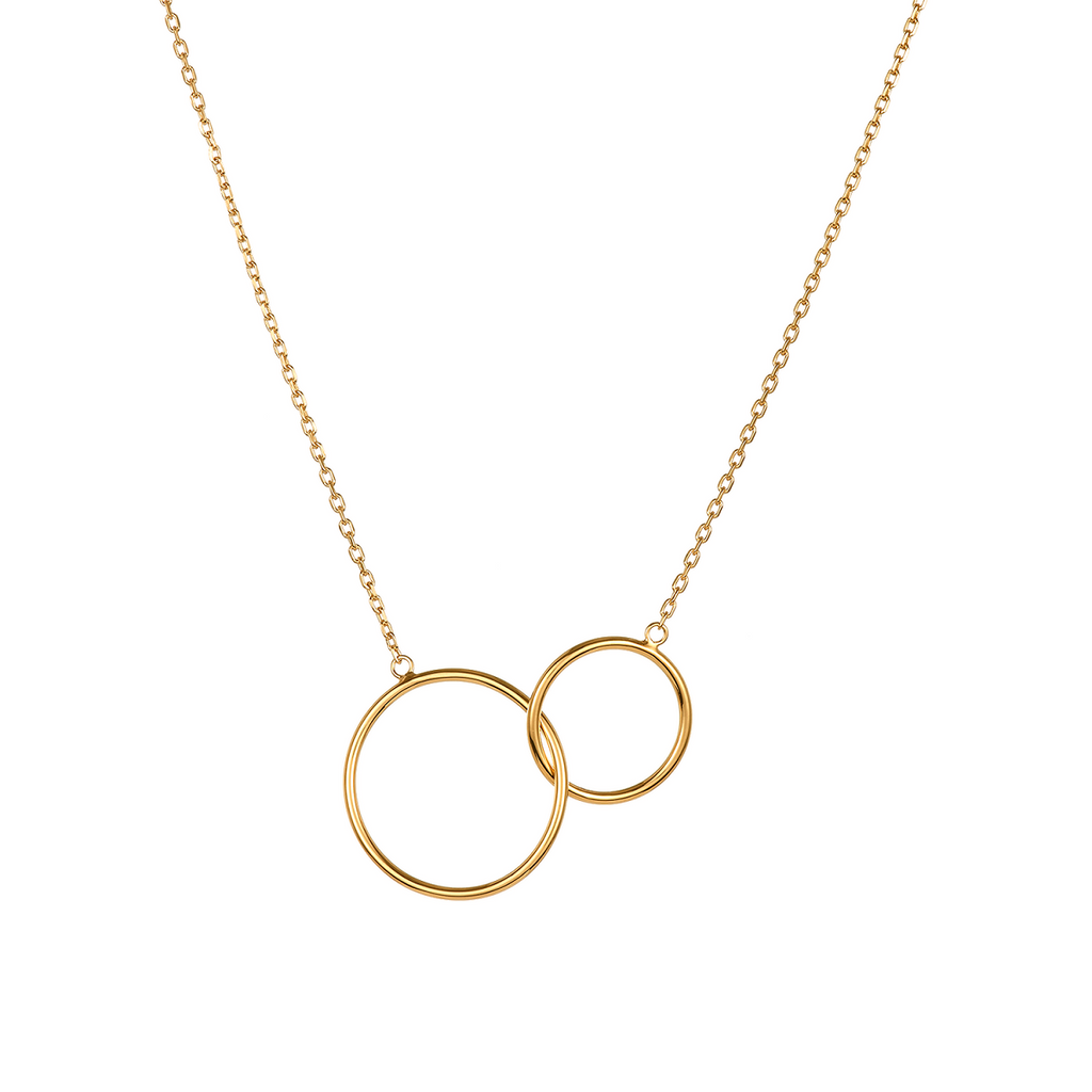 Lola Mother Daughter 18K Gold Plated Necklace | Avenue Petit Lou