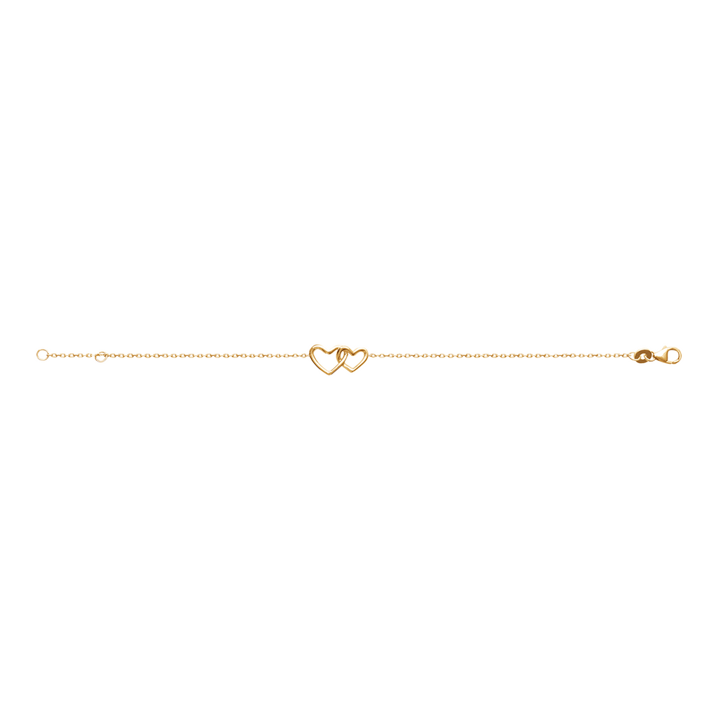 Sister Love 18K Gold Plated Bracelet | Avenue Petit Lou
