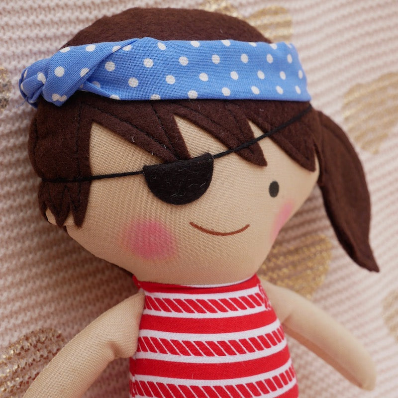 Jenny Pirate Doll  - One of a Kind | Avenue Petit Lou