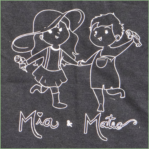 "NEW! Organic Cotton - ""Mia & Mateo"" Toddler T-shirt"