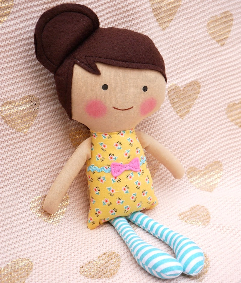 Julia Flora Doll - One of a Kind | Avenue Petit Lou