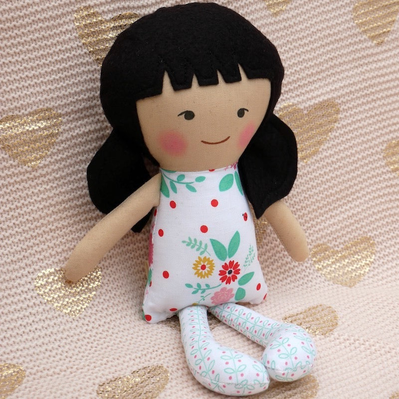 Asian American Olivia Doll - One of a Kind | Avenue Petit Lou