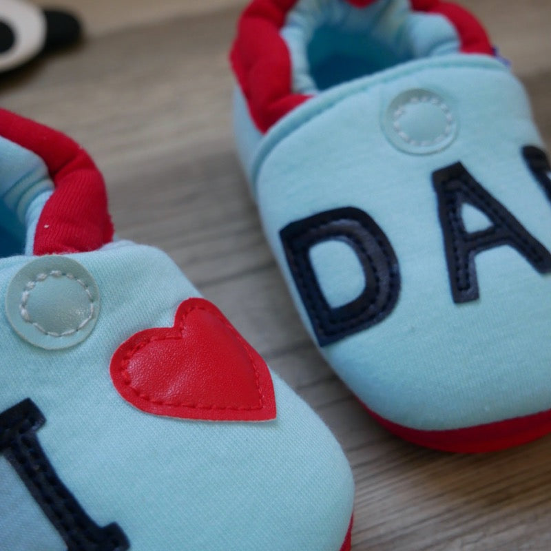 I Love Dad Baby Shoes | Avenue Petit Lou