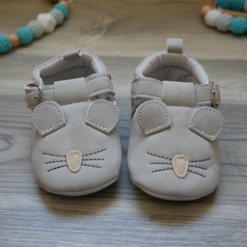 Mouse Baby Shoes  | Avenue Petit Lou