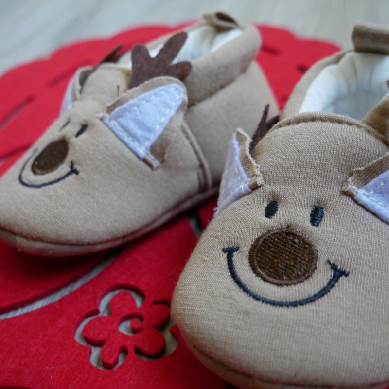 Reindeer Baby Shoes | Avenue Petit Lou