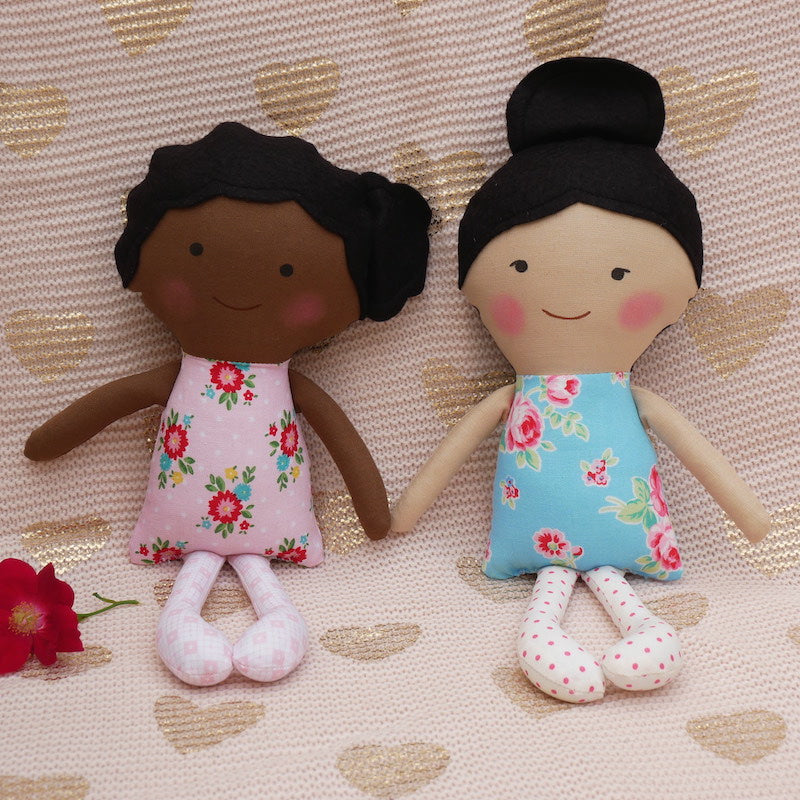 African American Rosa Doll - One of a Kind | Avenue Petit Lou