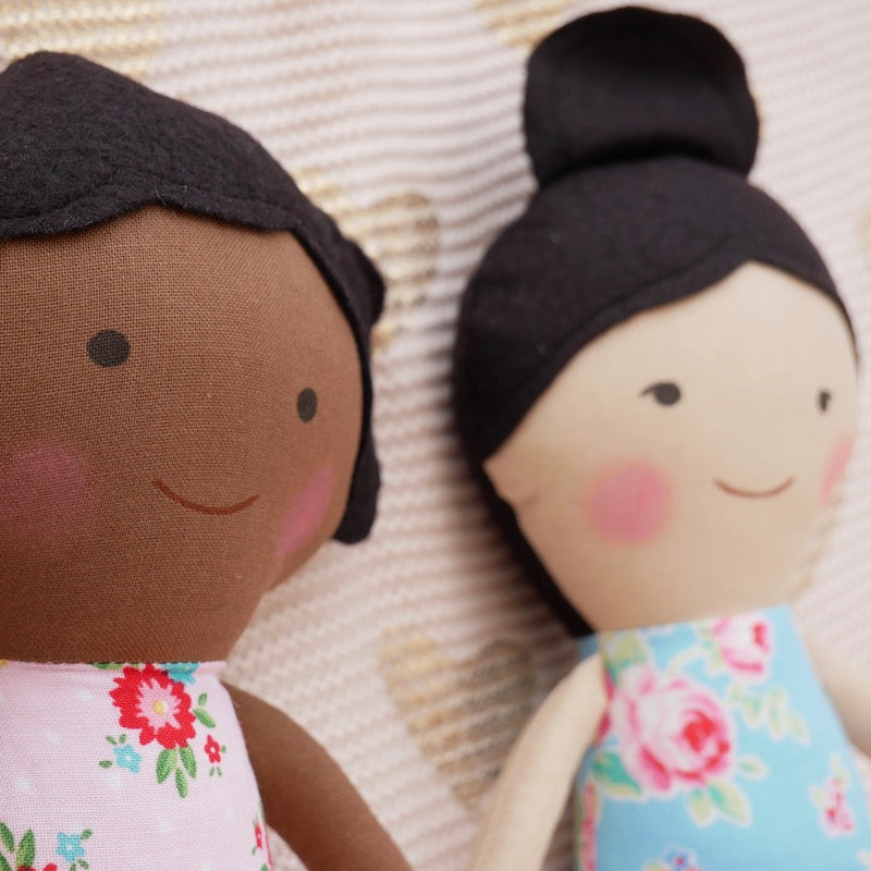 Asian American Amelia Doll  - One of a Kind | Avenue Petit Lou