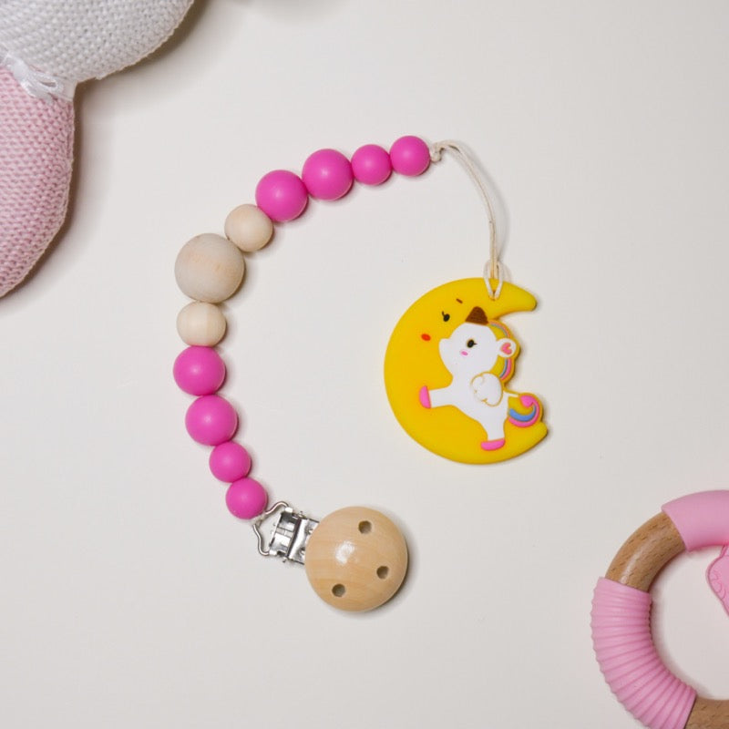 Silicone Moon Unicorn Teether | Avenue Petit Lou