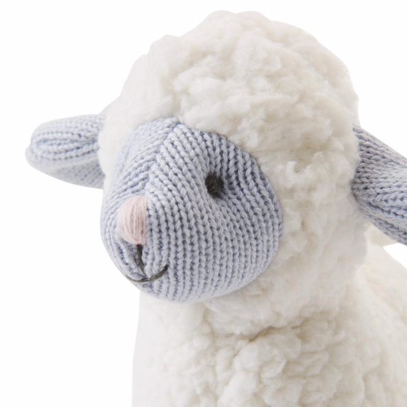 "Lamb - 10"" - Knitted - Avenue Petit Lou"