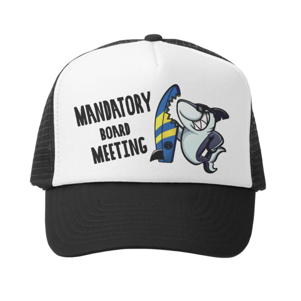 Mandatory Board Meeting Trucker Hat