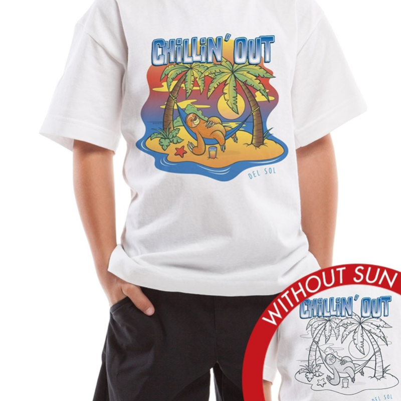 Kid's Crew Tee - Chillin' Out
