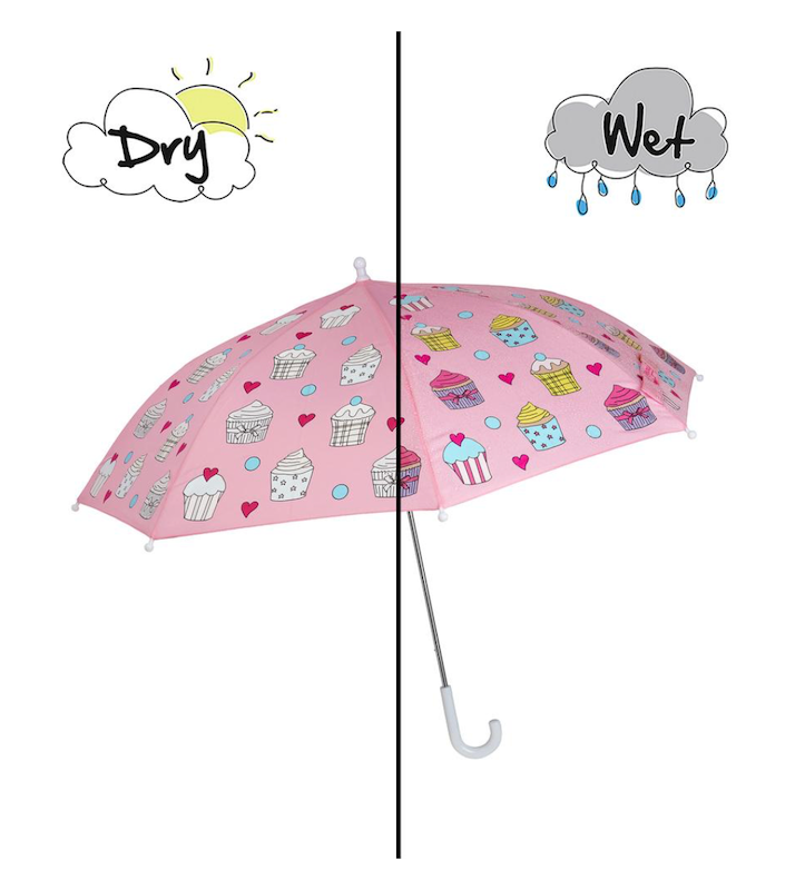 Cupcake Color Changing Umbrella - Avenue Petit Lou