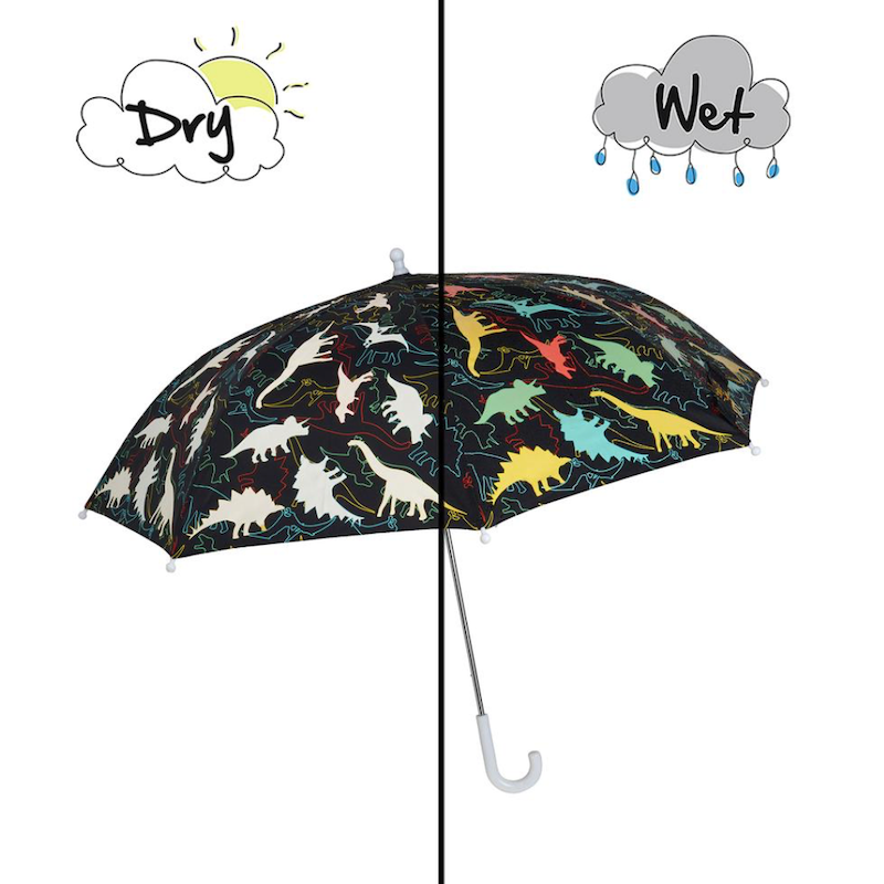 Dinosaur Color Changing Umbrella - Avenue Petit Lou