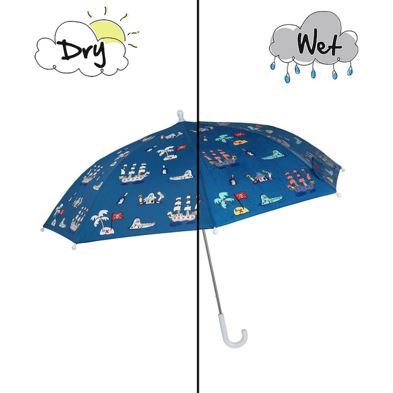 Pirate Color Changing Umbrella - Avenue Petit Lou