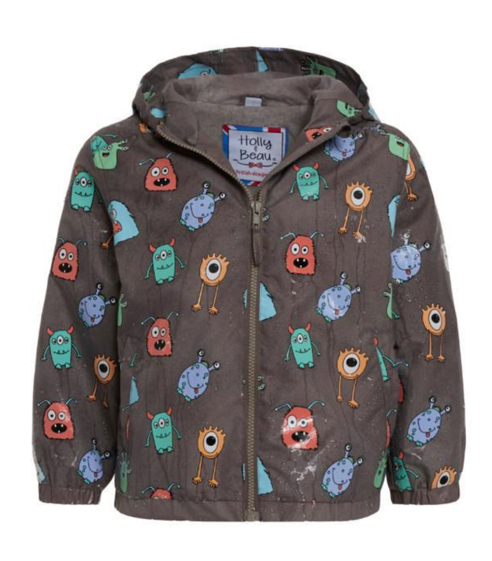 Monster Color Changing Raincoat - Avenue Petit Lou