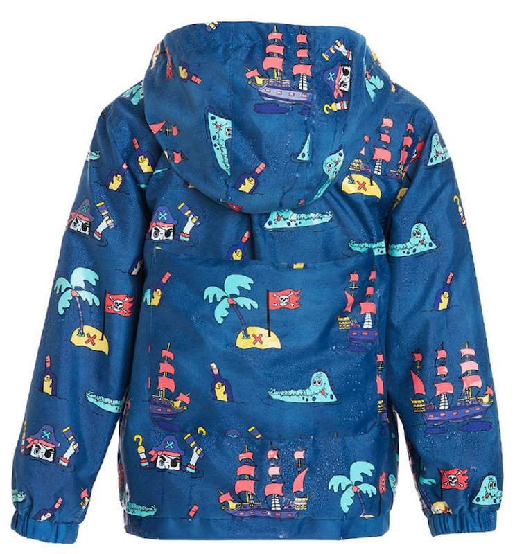 Pirate Color Changing Raincoat - Avenue Petit Lou