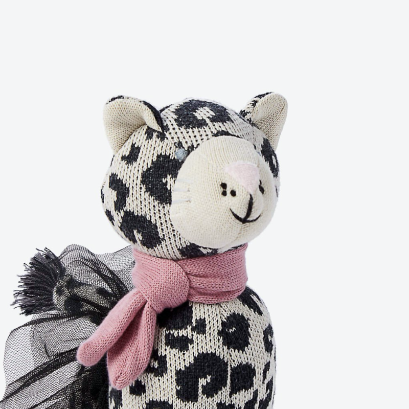 Laurel Leopard Knit Doll | Avenue Petit Lou